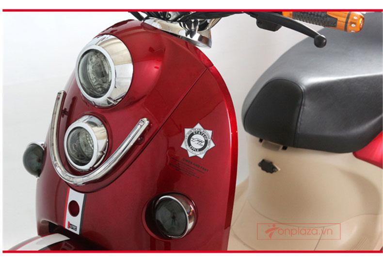 Hình ảnh chi tiết sản phẩm xe điện 3 bánh dáng thể thao
