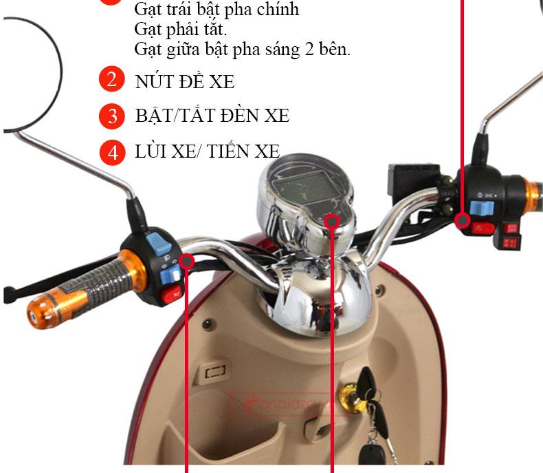 Chi tiết sản phẩm xe scooter 3 bánh