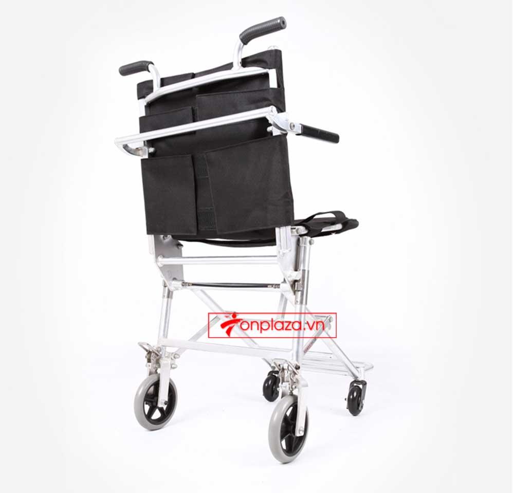 Xe lăn đẩy tay cao cấp siêu nhẹ dành cho người khuyết tật, người già TM037