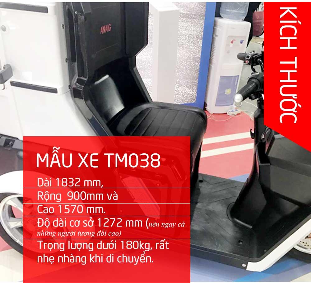 Xe ô tô 3 bánh đời mới thời trang siêu gọn nhập khẩu TM038