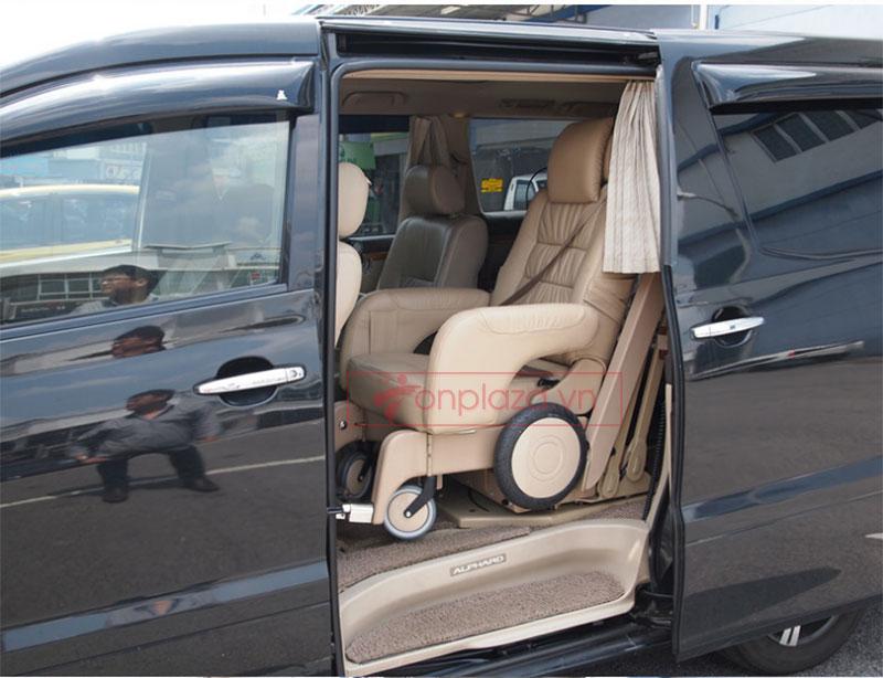 Xe lăn điện tự động chuyên dụng sử dụng trên ô tô TM053