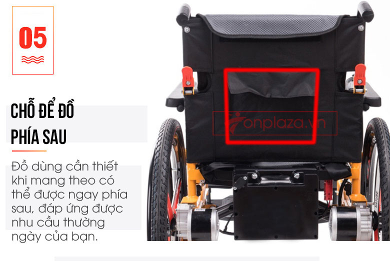 Xe lăn điện thông minh chống lật ngược TM057