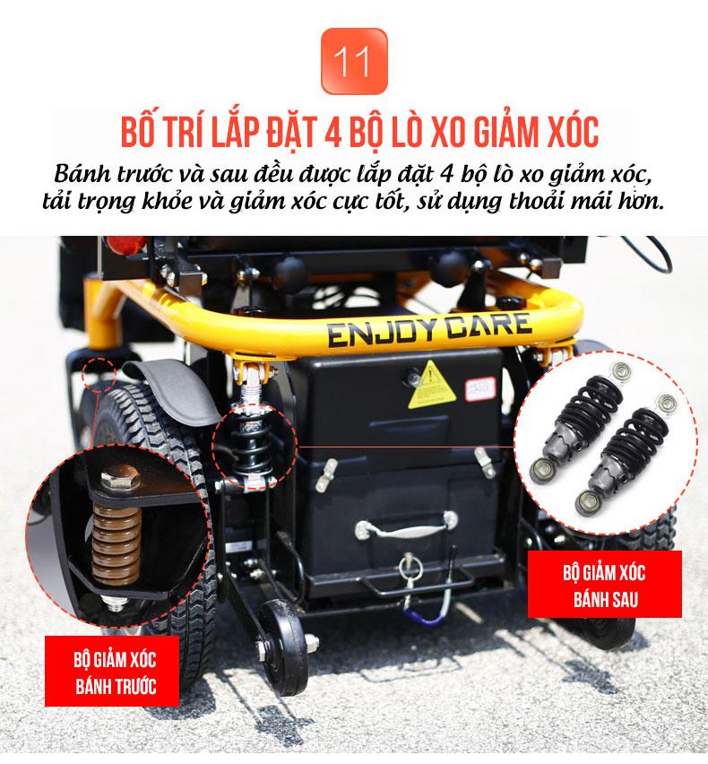 Xe điện đa năng thời trang có thể ngả được phía sau TM063