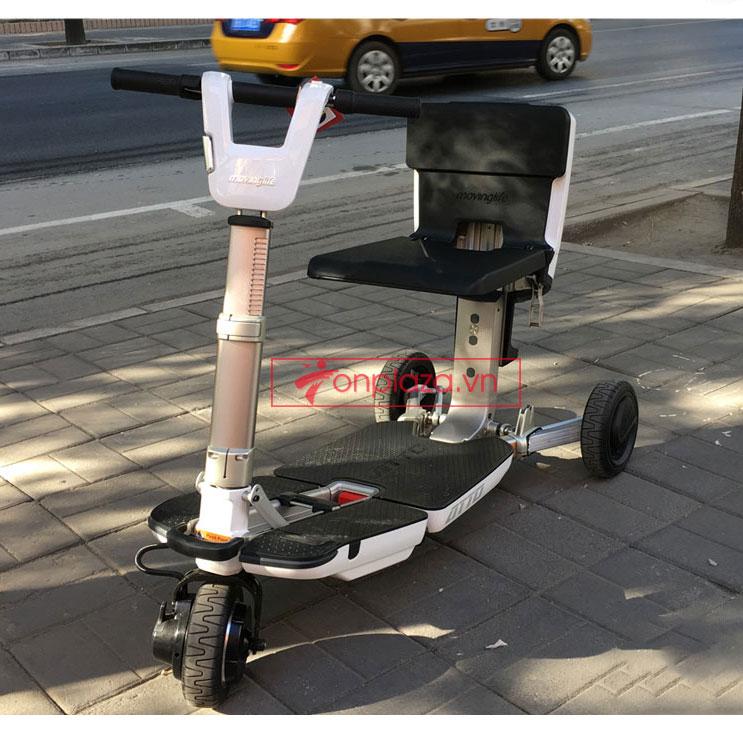 Xe điện mini cao cấp hô biến thành vali độc đáo và tiện ích TM065