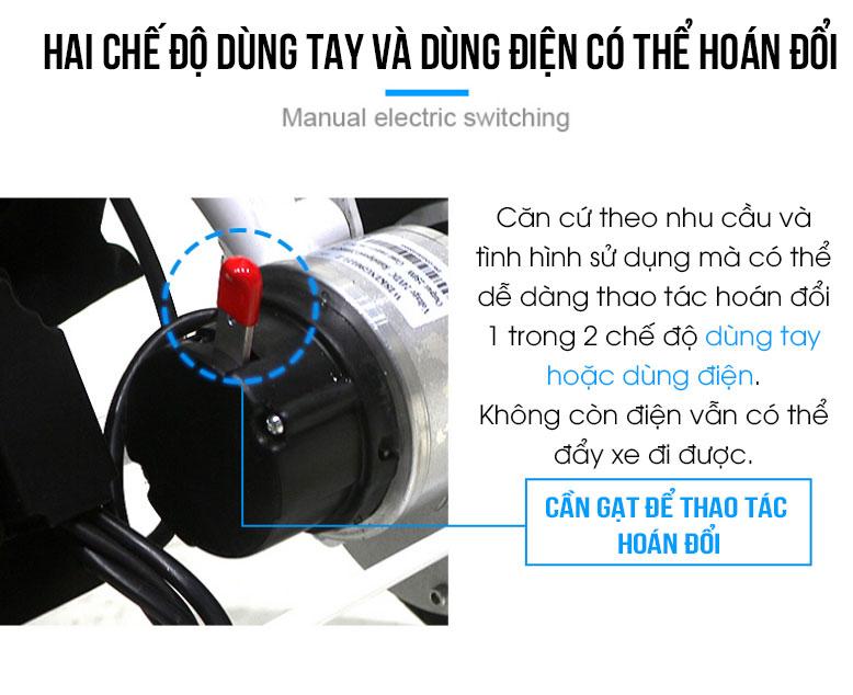 Xe lăn điện cao cấp gập gọn tiện lợi khi đi máy bay TM080