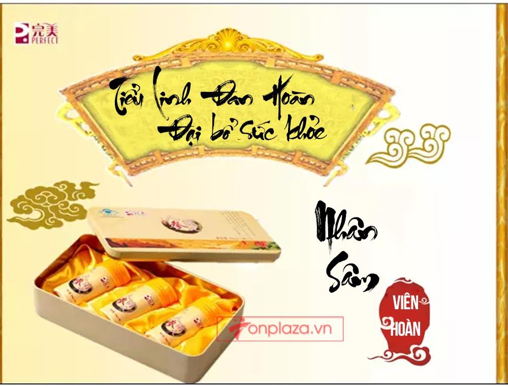 ad hong sam don 20 Hồng sâm đơn cát phúc Tiểu tiên đơn đại bổ sức khỏe NS446