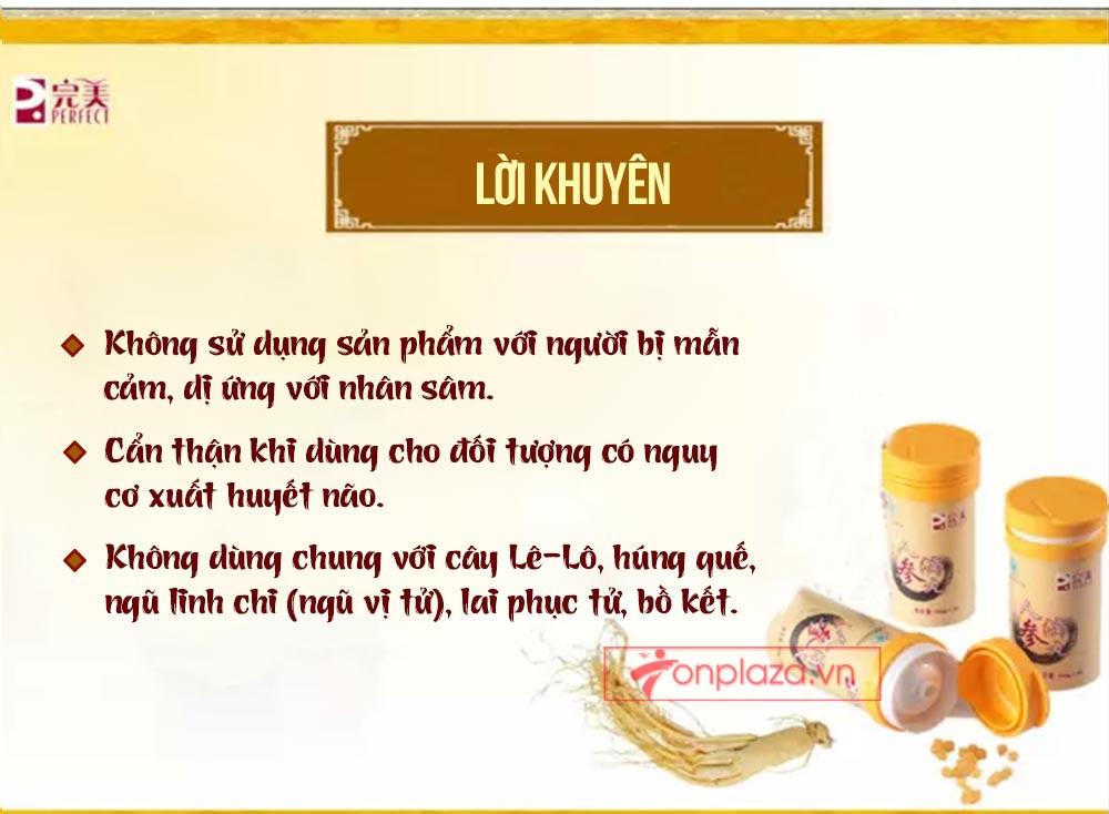 ad hong sam don 22 Hồng sâm đơn cát phúc Tiểu tiên đơn đại bổ sức khỏe NS446