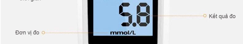 Máy đo đường huyết thông minh SANNUO- GA3 cao cấp TM001