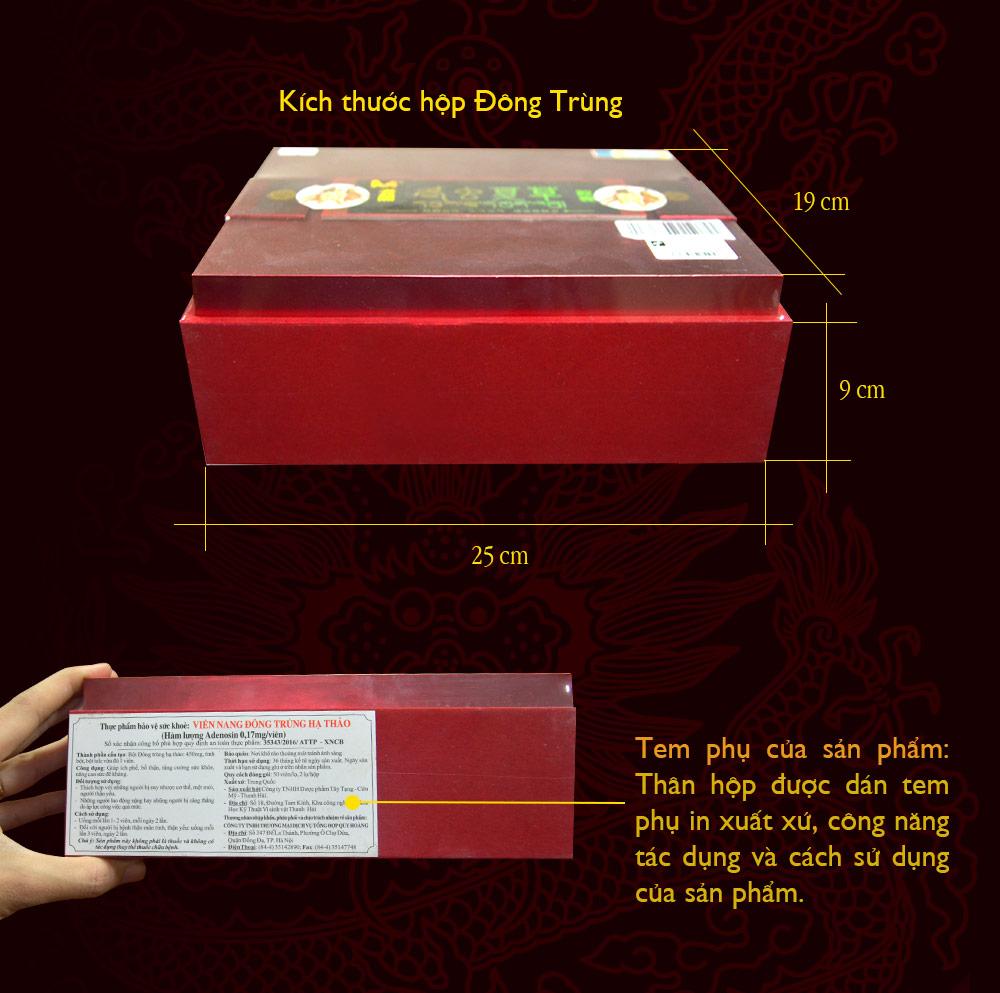 Viên nang đông trùng hạ thảo D049