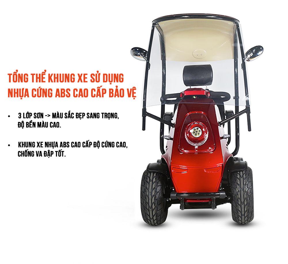 Xe tay ga điện 4 bánh cao cấp chất lượng cao TM085