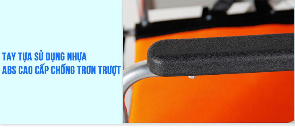 Xe lăn tay thao tác đơn giản thuận tiện cho người già người khuyết tật TM097