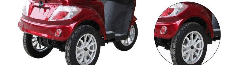Xe mô tô điện 3 bánh mô phỏng xe tay ga cao cấp TM026