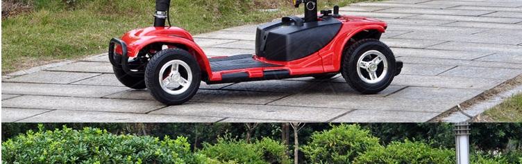 Xe scooter 4 bánh cao cấp cho người già TM029