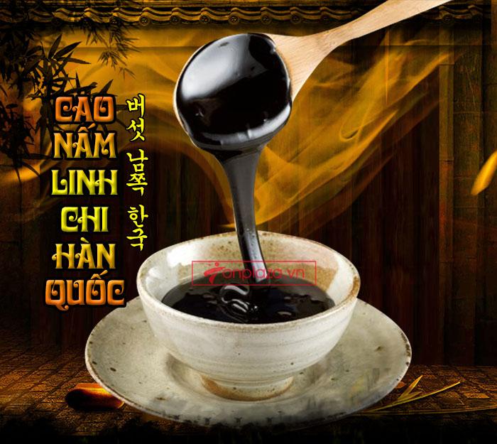 Cách dùng cao linh chi Hàn Quốc
