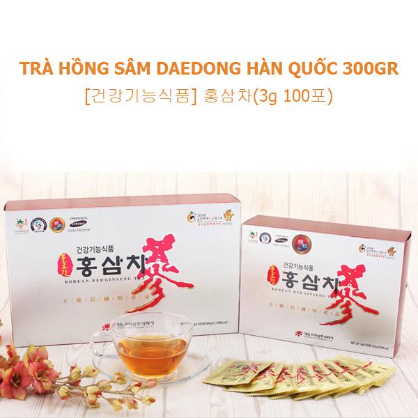 Trà hồng sâm Daedong Hàn Quốc 300gr