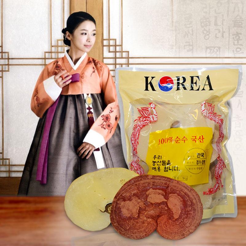 Nấm linh chi tai vàng Phượng Hoàng Hàn Quốc