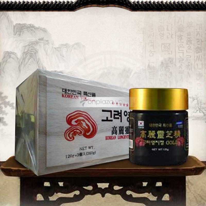 Cao Linh Chi Núi 6 năm tuổi - hộp gỗ trắng Gold L030