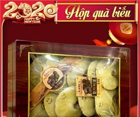 Nấm linh chi đỏ Hàn Quốc hộp quà biếu thượng hạng L047
