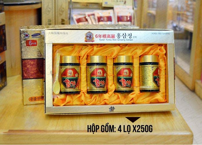 Cao hồng sâm Samsung Hàn Quốc 6 năm tuổi 4 lọ 3