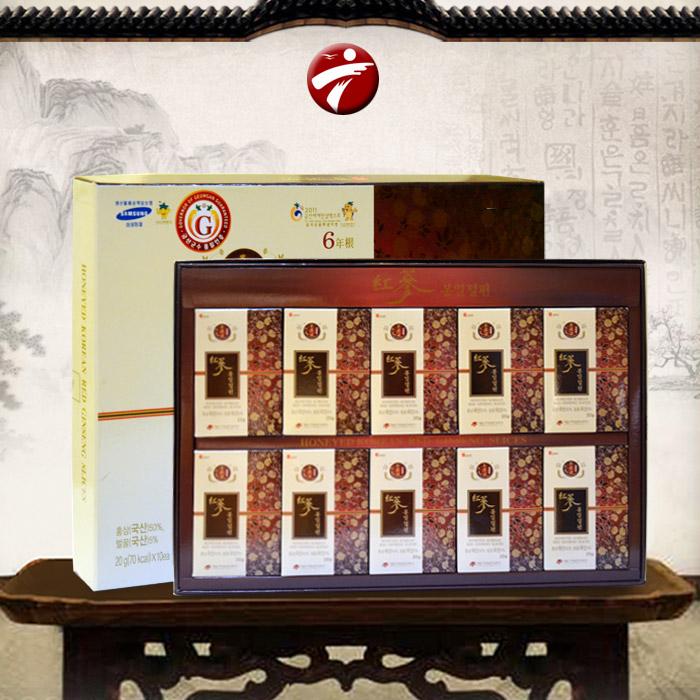 Hồng sâm Daedong thái lát tẩm mật ong cao cấp NS131