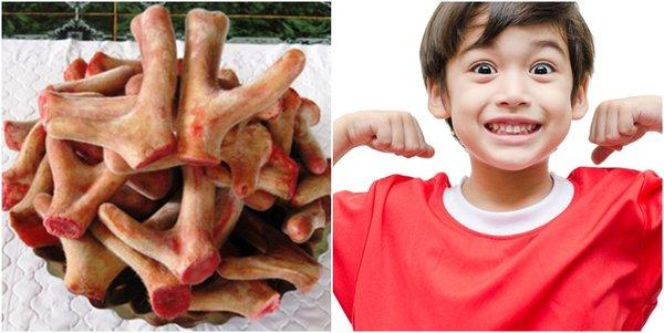 Nhung hươu giúp cải thiện tình trạng suy dinh dưỡng ở trẻ