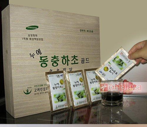 Nước uống đông trùng hạ thảo là món quà tặng cho người nước ngoài ý nghĩa