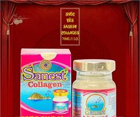 Nước yến sào collagen bổ dưỡng đẹp da